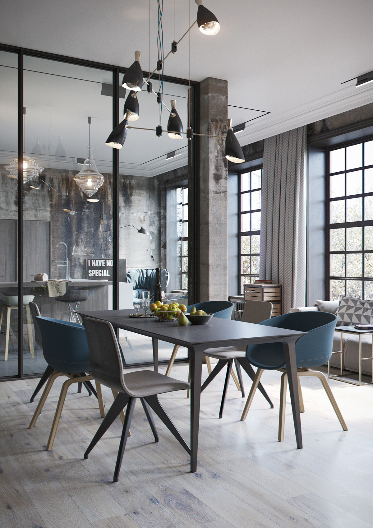 Industrial Style Industrial Style Design In This Amazing Loft Recreation