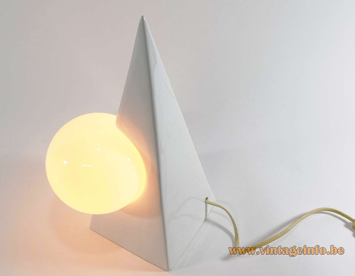 Philips Lamp Wikipedia 1980s Pyramid Globe Table Lamp –vintage Info – All About