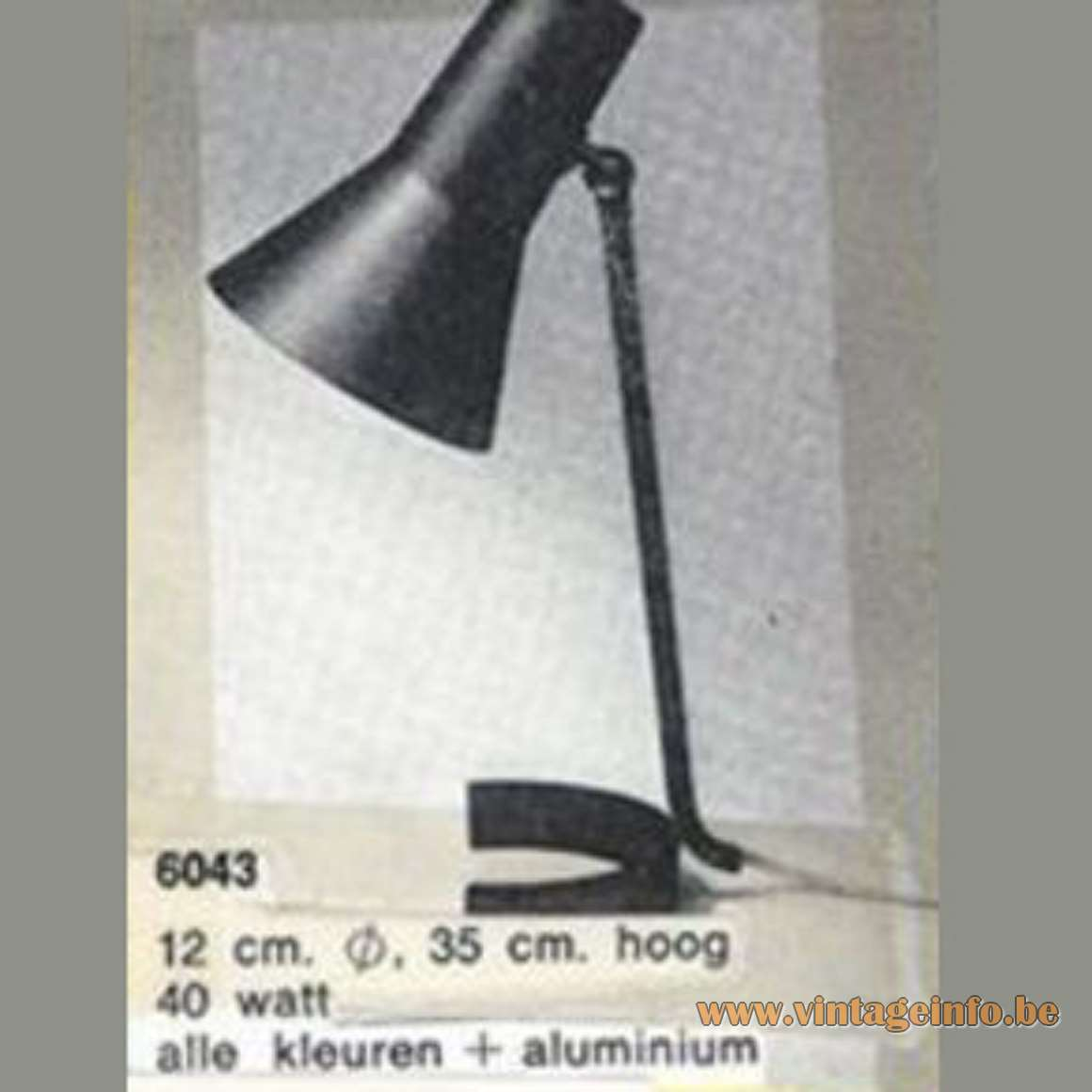 Bureaulamp Anvia Anvia Horseshoe Desk Lamp 6043 Vintage Info All About