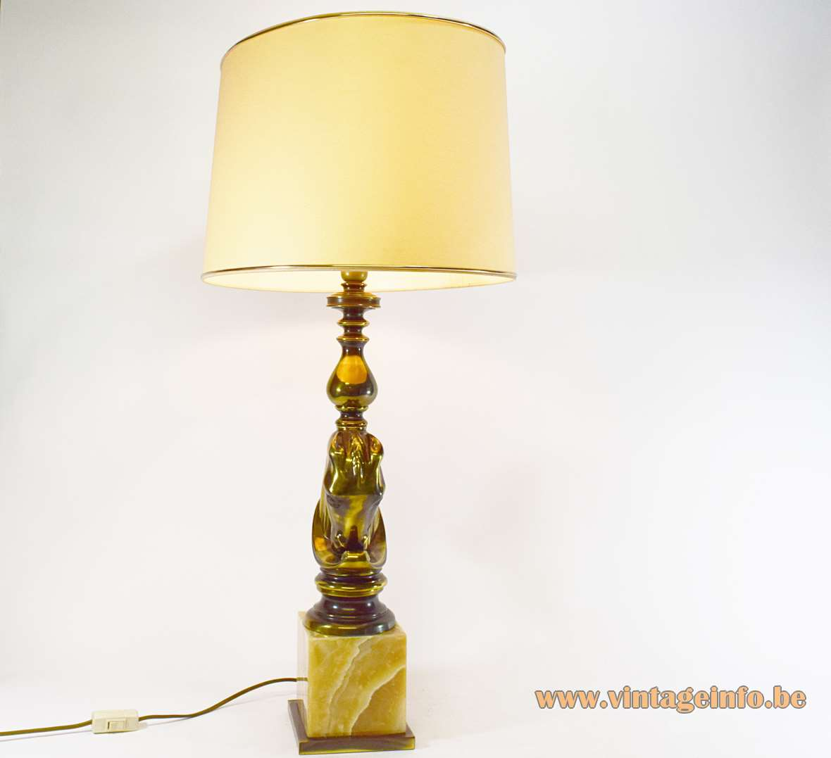 Horsehead Table Lamp Vintage Info All About Vintage