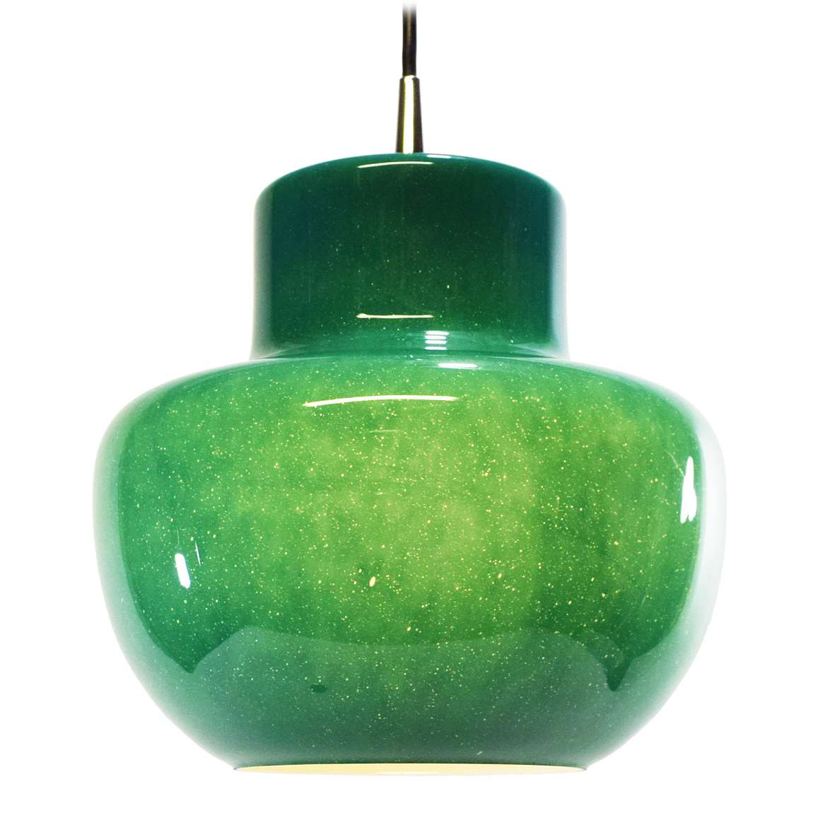 Green Glass Pendant Light Green Glass Pendant Lamp Vintage Info All About Vintage
