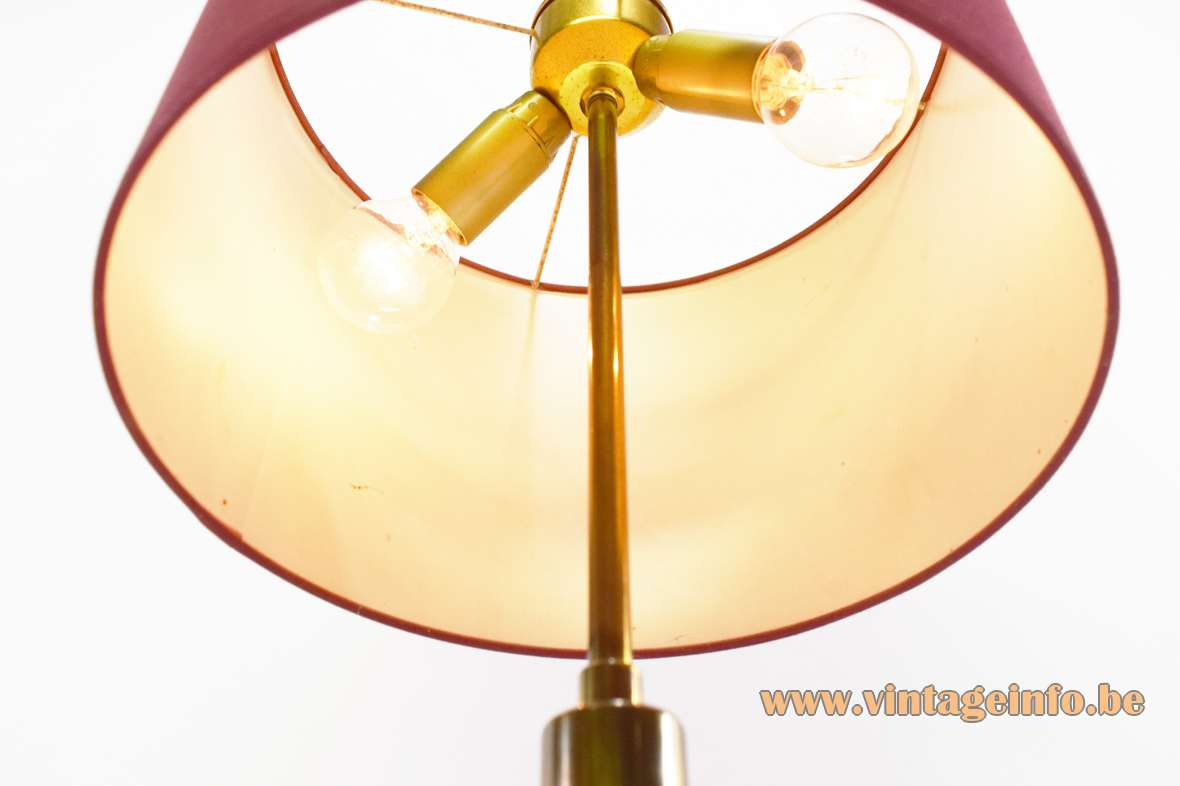 1960s Brass Table Lamp Vintage Info  All About Vintage