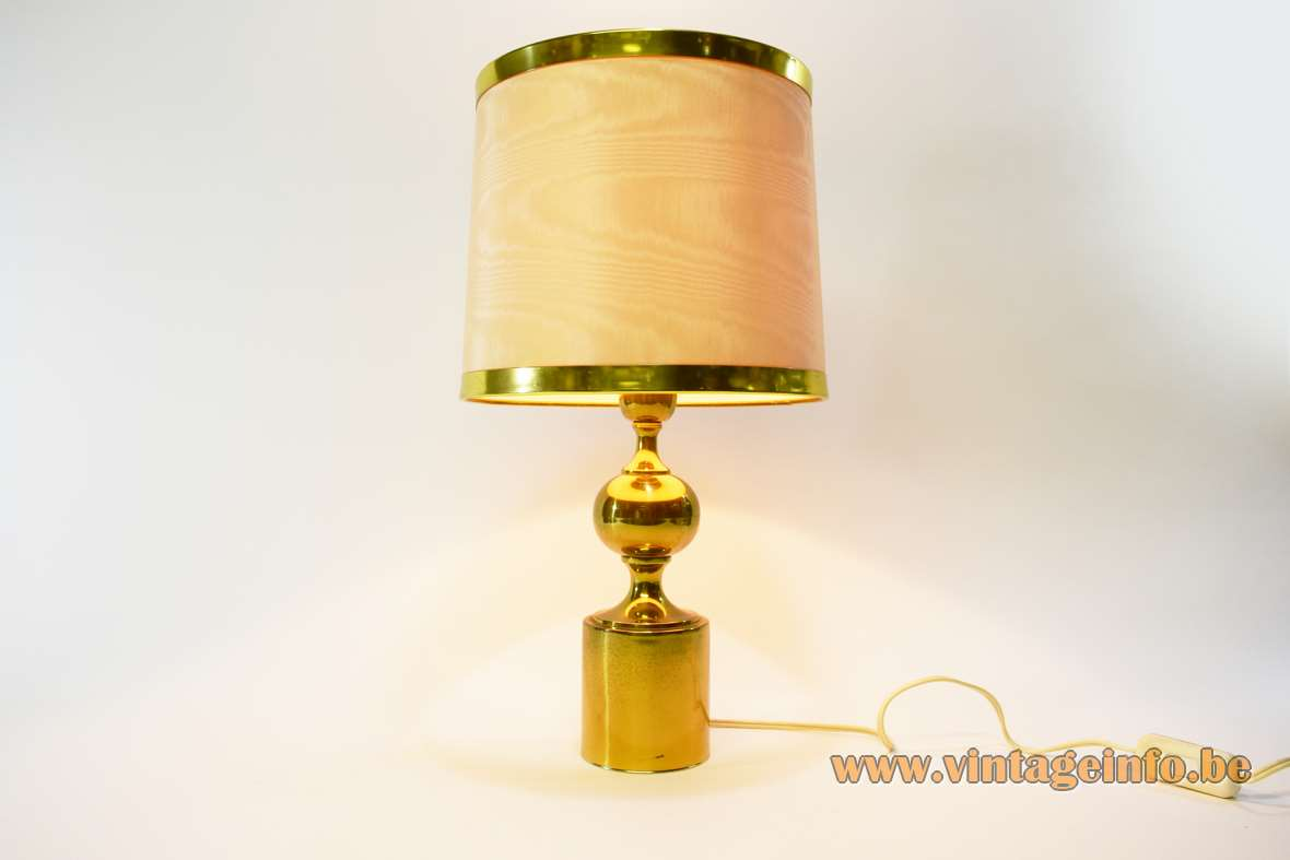 Philips Lamp Wikipedia 1970s Brass Table Lamp –vintage Info – All About Vintage