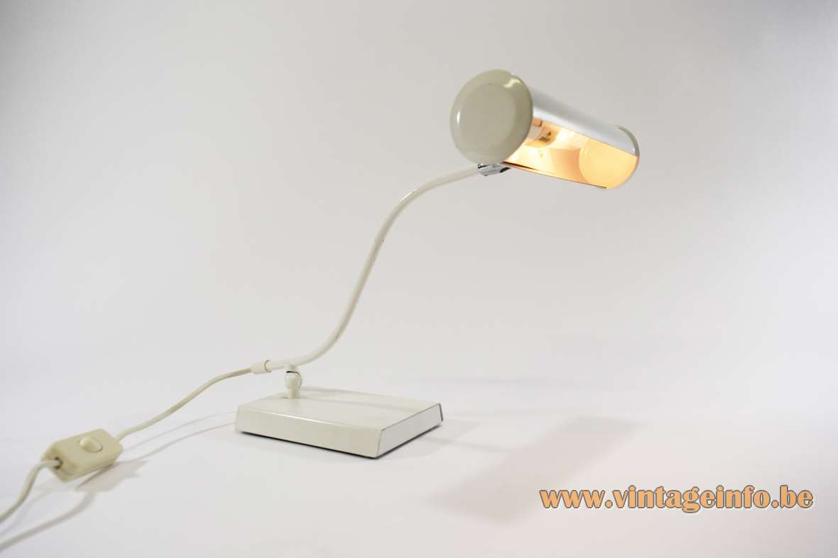 Bureaulamp Anvia White 1980s Anvia Desk Lamp Vintage Info All About
