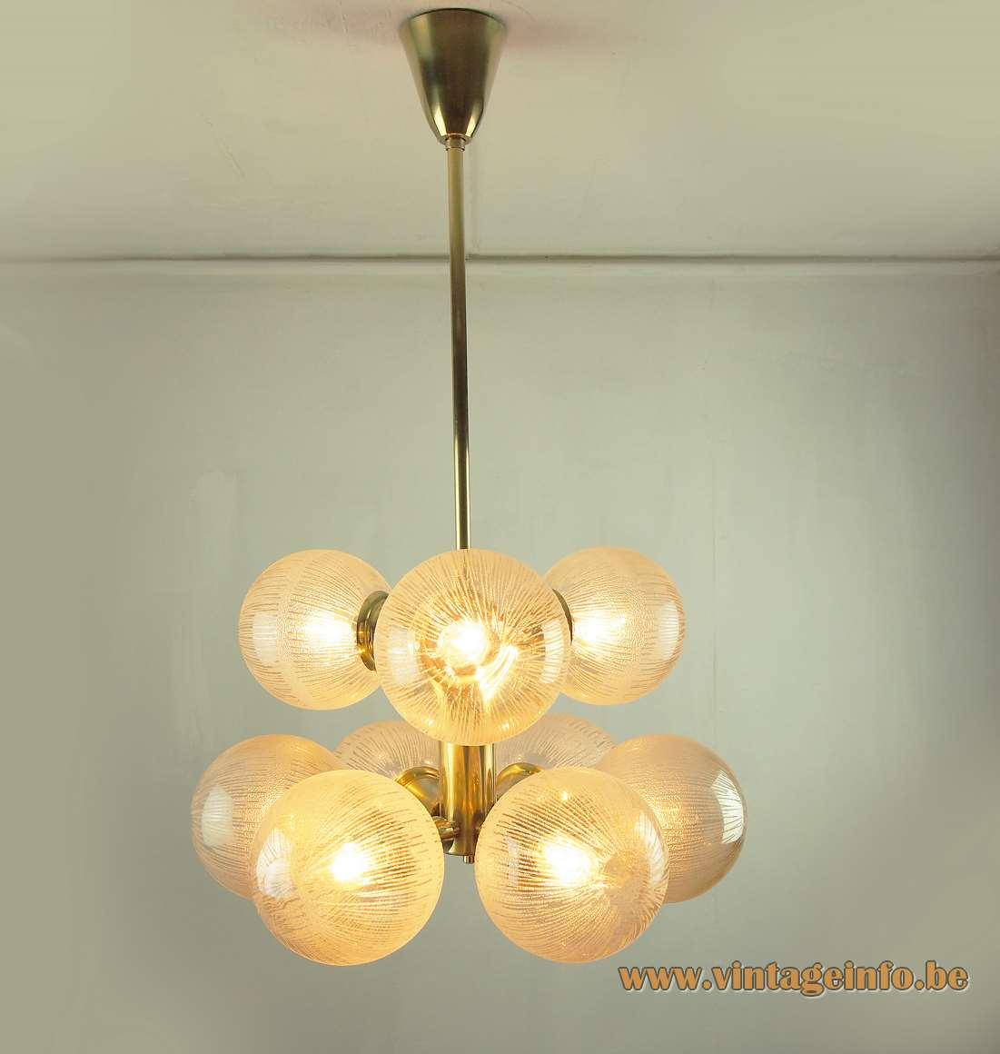 Leuchten Kaiser Kaiser Leuchten 9 Globes Chandelier –vintageinfo – All About Vintage Lighting