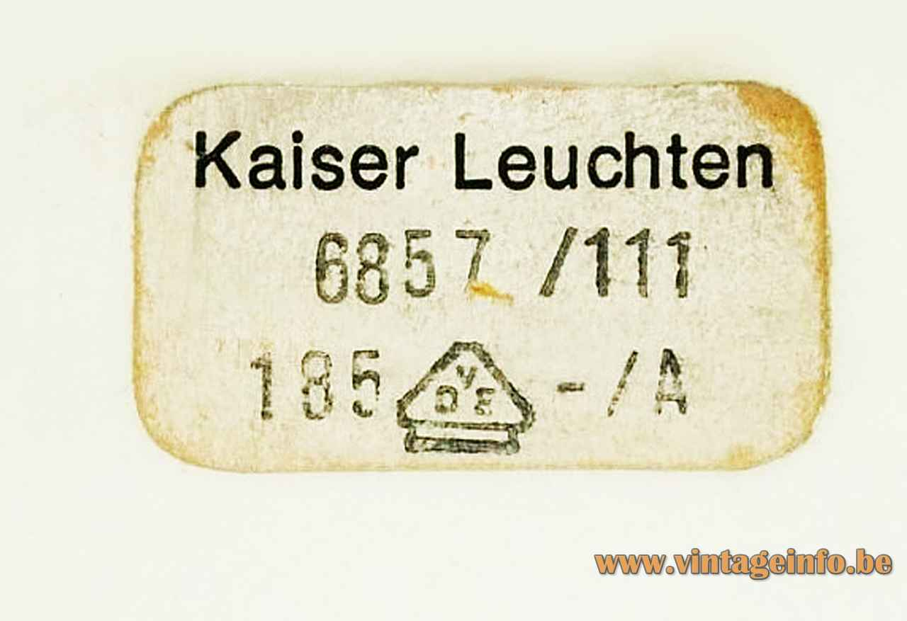 Leuchten Kaiser Kaiser Leuchten Desk Lamp 6857 –vintageinfo – All About Vintage Lighting