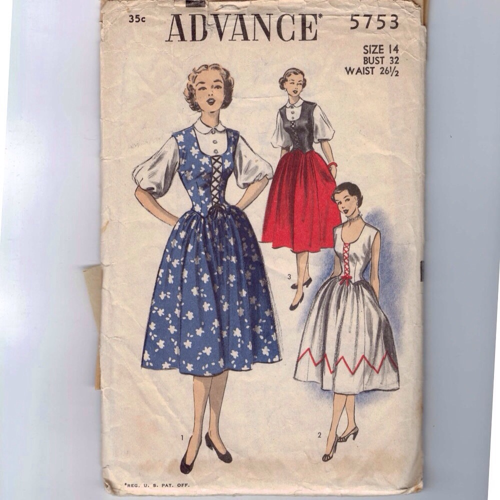 Dirndl Dress Nyc Vintage Oktoberfest The Vintage Inn