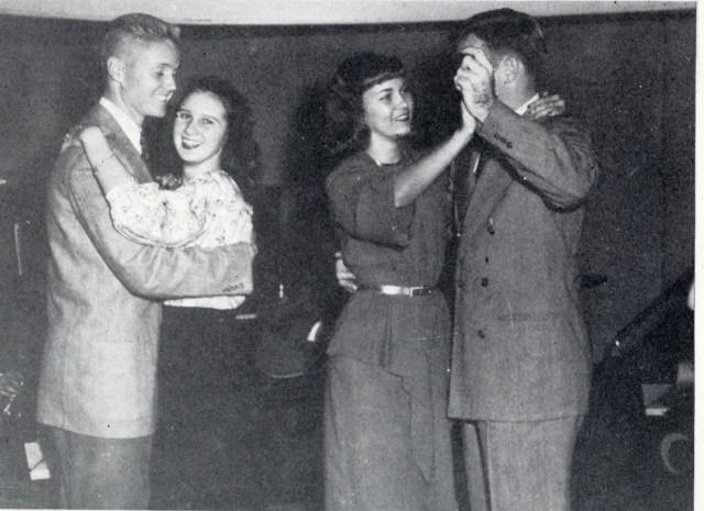1940s school dance