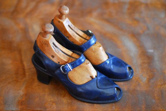 1940s vintage shoes for women