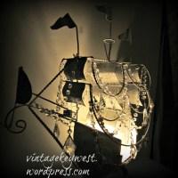 pirate ship chandelier  Vintage Key West