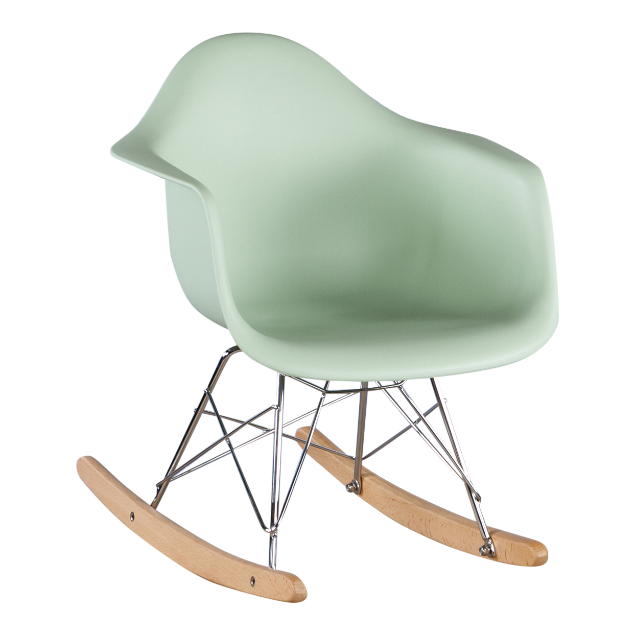 Eames Rar Kinder Eames Schommelstoel Rar Junior Minty