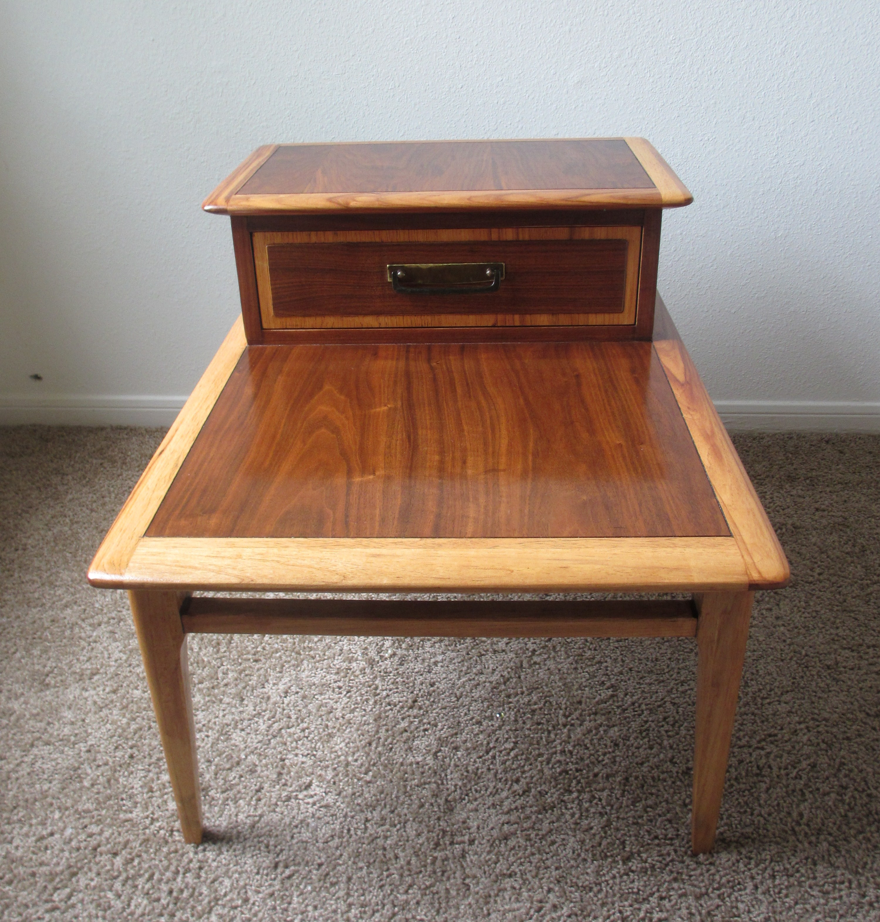 Danish Modern End Table Mid Century End Table Lane Furniture Danish Style