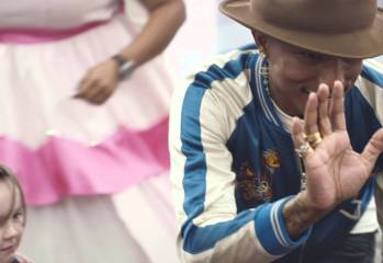 Pharrell Makes Fan's Dreams Come True
