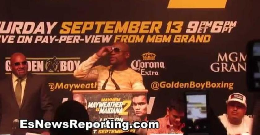 "Floyd Mayweather Claims He Smashed T.I.'s Wife Tiny! ""I Was F*cking His B*tch"""