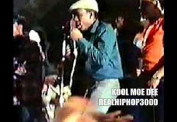 Kool Moe Dee Live At Harlem World 1981 (Busy Bee VS Kool Moe Dee Battle)