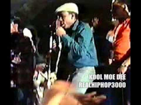 Kool Moe Dee Live At Harlem World 1981 (Busy Bee VS Kool Moe Dee Battle)
