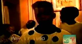 12-Year-Old Kanye West Freestyles in Home Footage