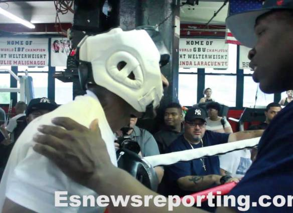 Charlamagne Tha God Spars With Boxer Shawn Porter
