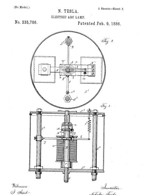tesla coil schematic diagram