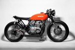 Came Across This Honda CB Cafe Racer Today While Looking For