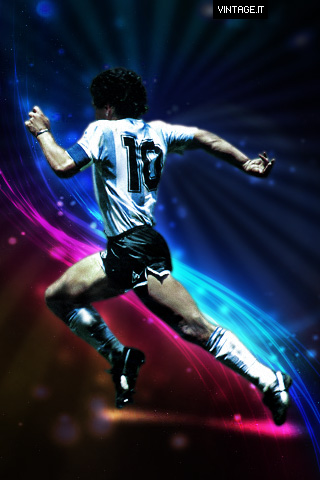 Iphone X Official Wallpaper Hd Diego Armando Maradona Iphone Wallpaper Free Desktop Hd