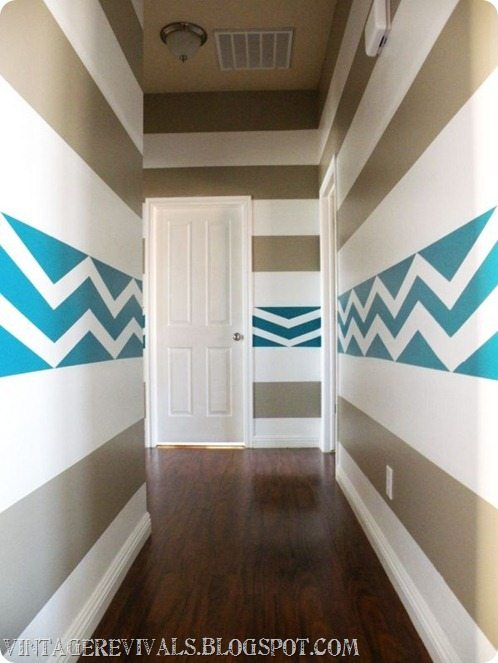 Hailee'S Hallway With The Scotchblue Painting Party! - Vintage