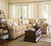 Pottery Barn Stenciled Number Pillows