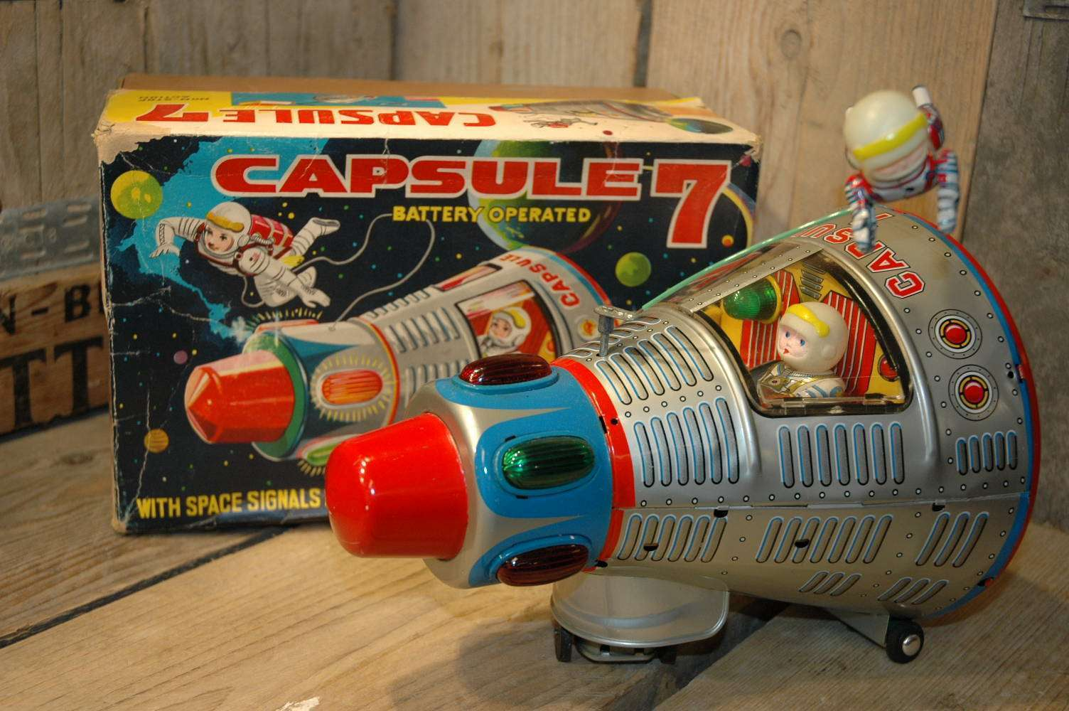Toy Capsule Toys Modern Toys Capsule 7 Vintage Spacetoys