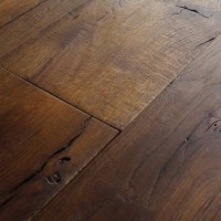 Reclaimed French Oak Planks Scraped Brushed Smoked Oiled ...
