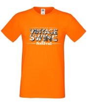 oranžna majica