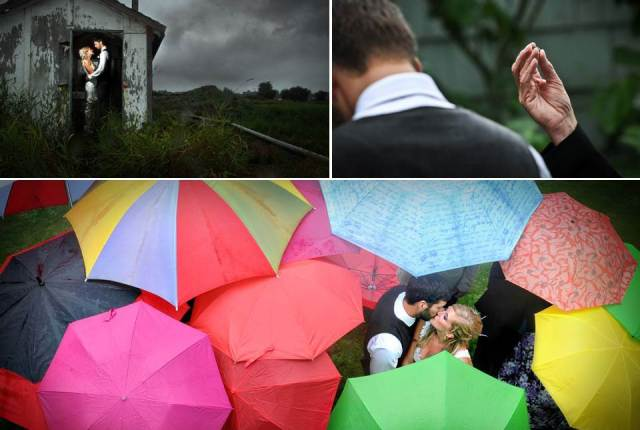 Rain at weddings 1 via National Vintage Wedding Fair blog