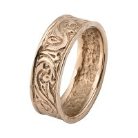 Rose Gold Rings: Antique Rose Gold Rings Antique Wedding Rings