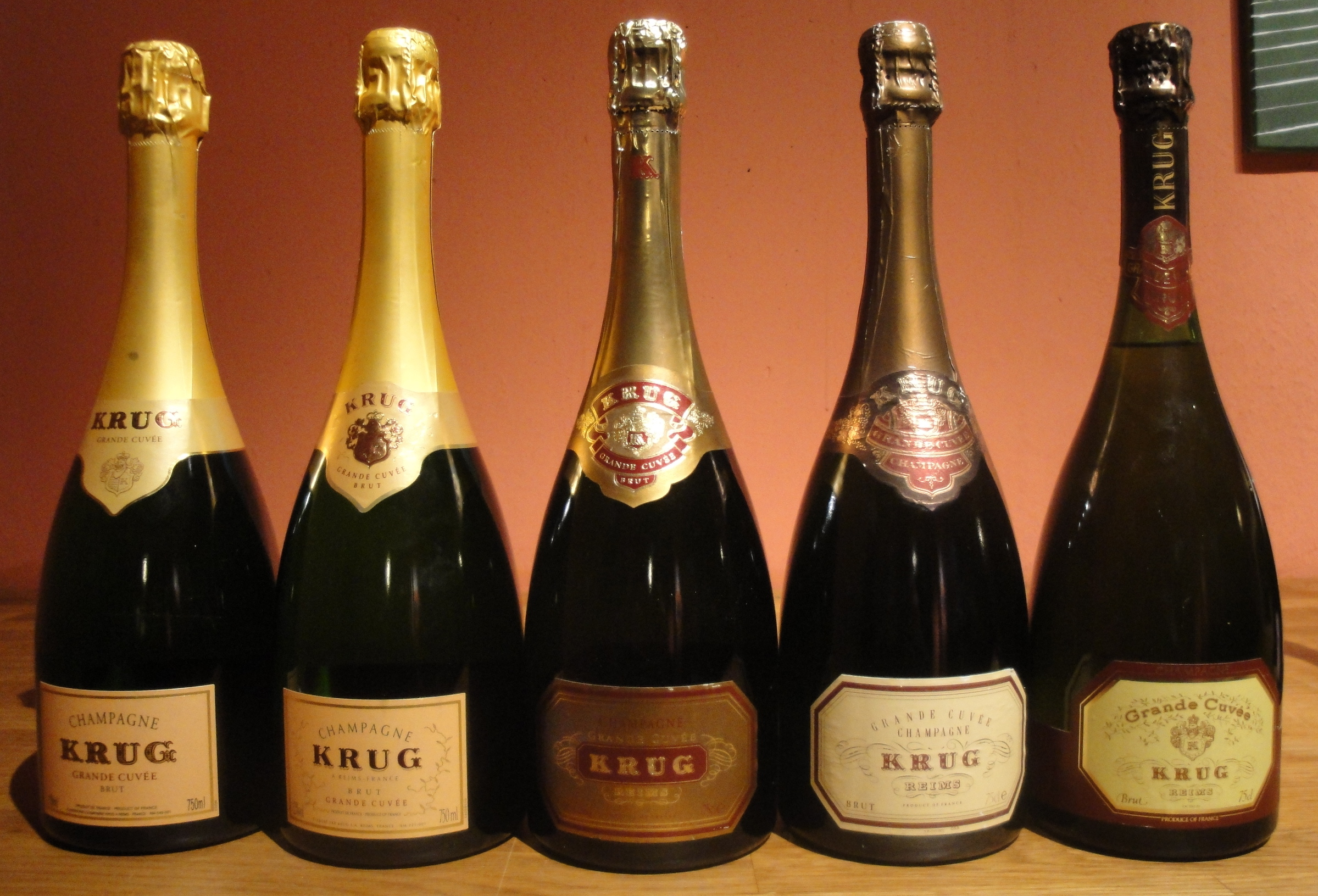 Grande Cave A Vin How To Identify The Age Of A Krug Grande Cuvée Tomas S Wine Blog