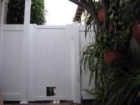 Dog Fencing Ideas - Dog Doors, Windows | Vinyl Concepts