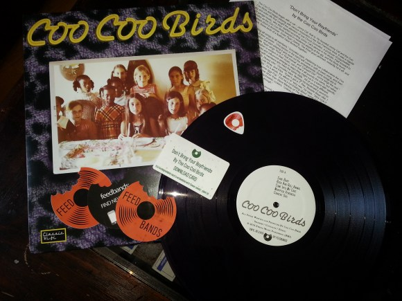 Coo Coo Birds Vinyl Package by Feedbands