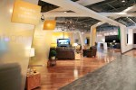 The Google Fiber Space retail store hints at some of the developments in the future that a gigabit network enables.