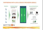 Evegent slide 8 depicting role of local service providers.