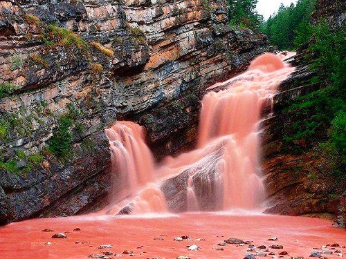 Waterton Lakes National Park Canada Cameron Falls Wallpaper Beauty Will Save Viola Beauty In Everything