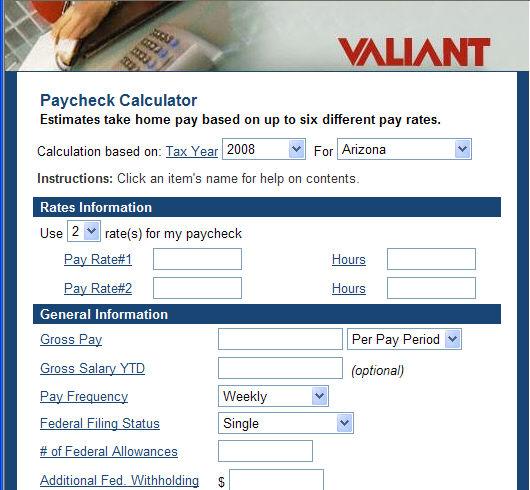 Net Pay Calc - net pay calculator