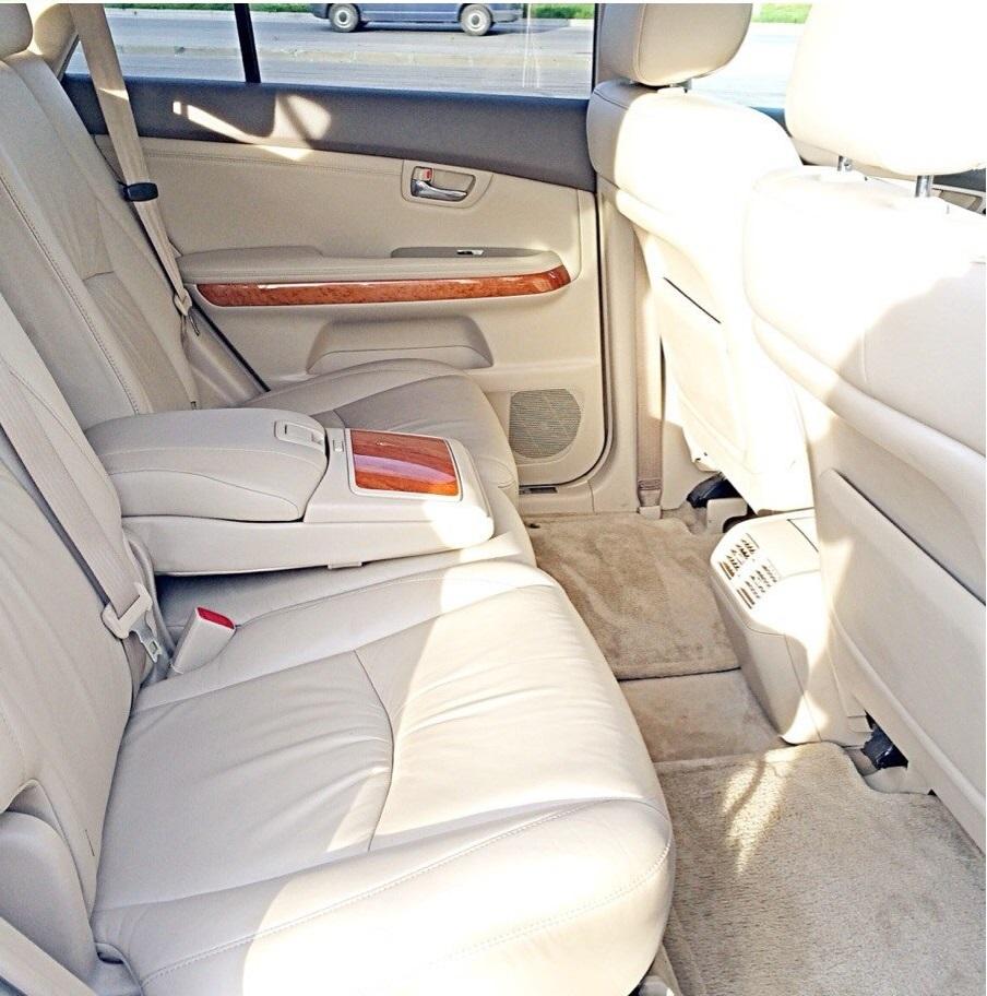 Lexus RX330 белый