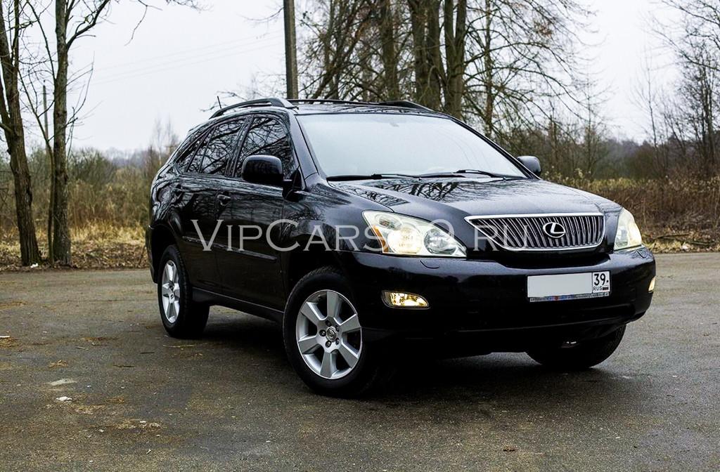 Lexus RX330 черный 1