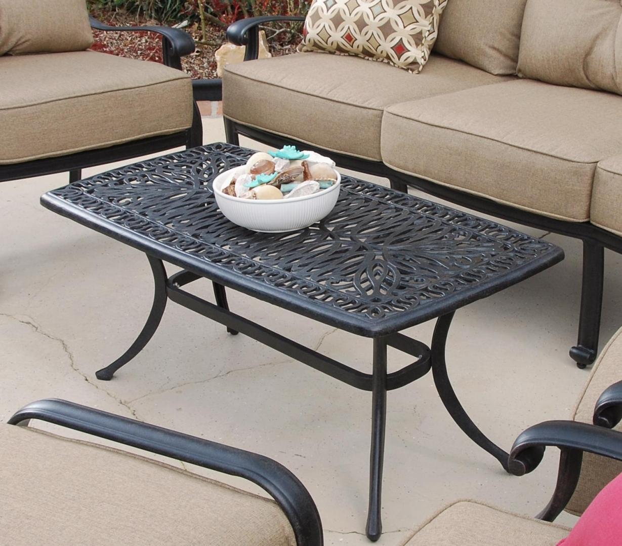 Gray Umbrella Hole Patio Coffee Table Cover Coffee Tables Outdoors Patio Coffee Table houzz-02 Patio Coffee Table