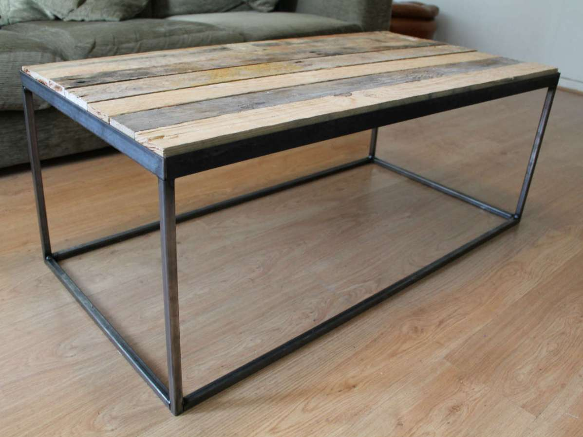 Metal Coffee Table Steel And Wood Coffee Table Coffee Tables