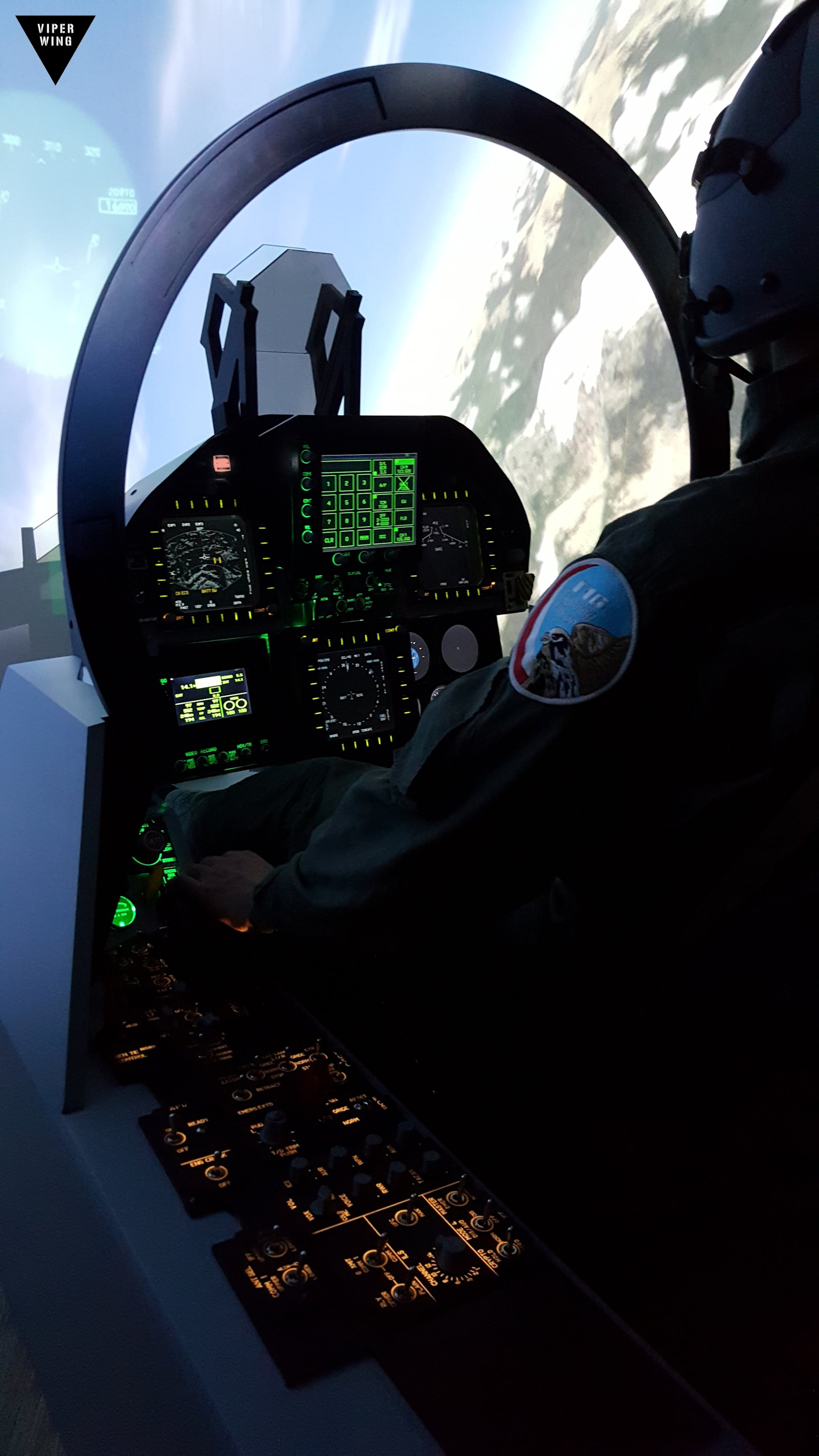 Flights F 18 F A 18 Simulator Fighter Jet Cockpit All Physical