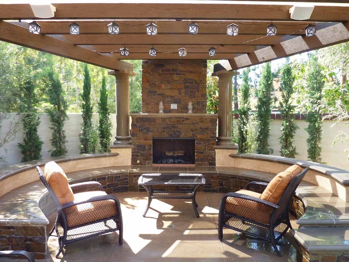 Outdoor Living Designer In Orange County Fiberglass Pool