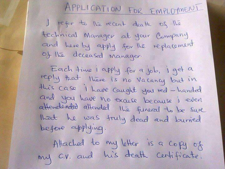 Application for Employment ViralSwarm