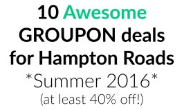10 Awesome Local Groupon Deals! (all over 40% off!)