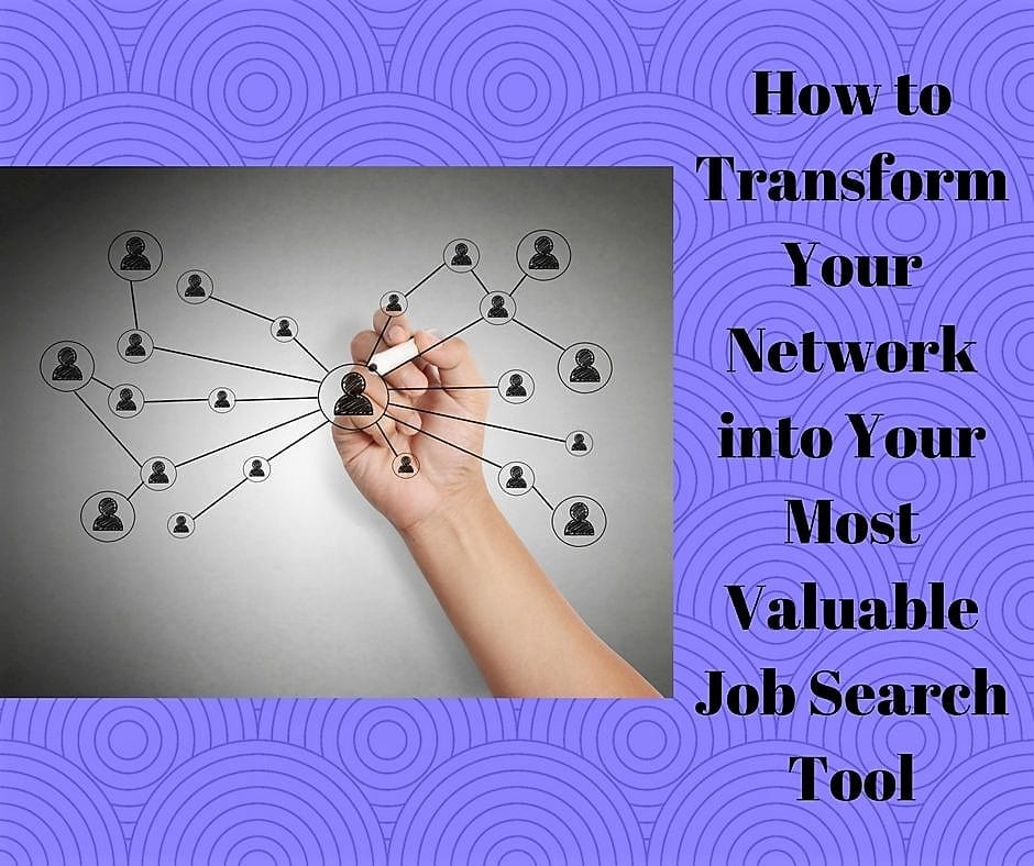 How to Transform Your Network into Your Most Valuable Job Search - linkedin resumes search