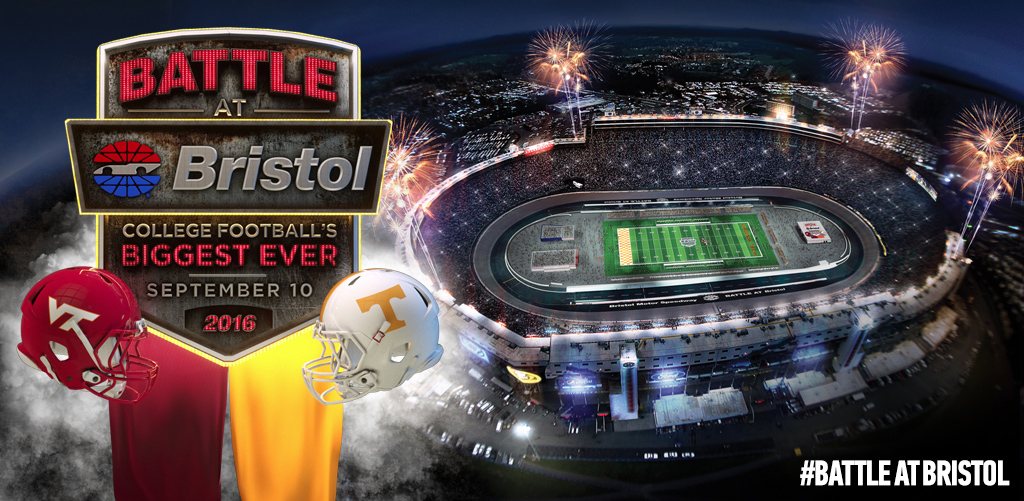 Virginia Tech Set To Face Tennessee In The Battle At Bristol