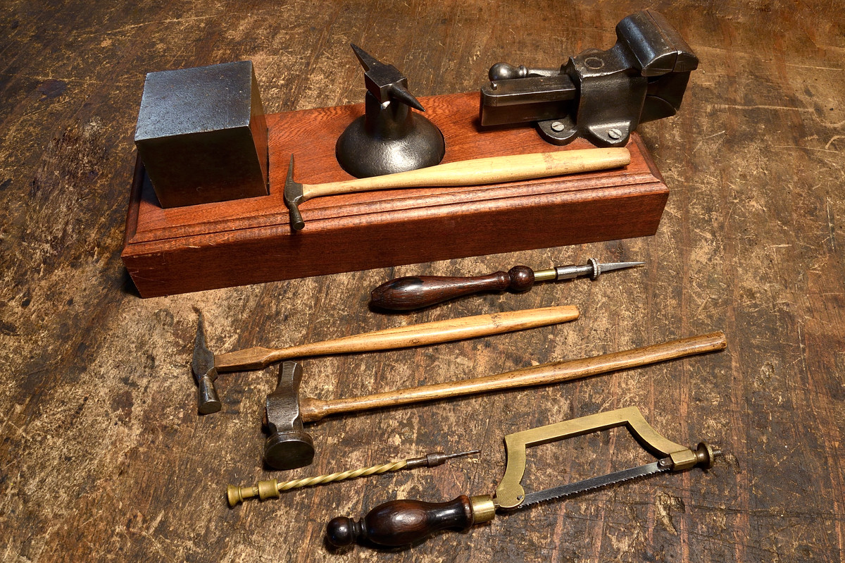 Woodworking Tool Bench Goldsmith Silversmith And Jewelry Tools Old And New